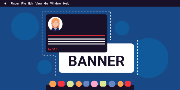 banner in email signature