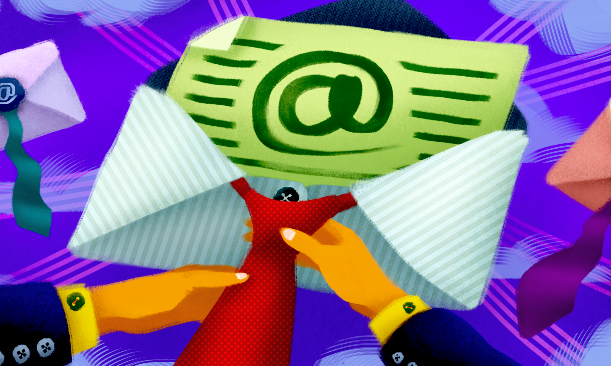 business email illustration