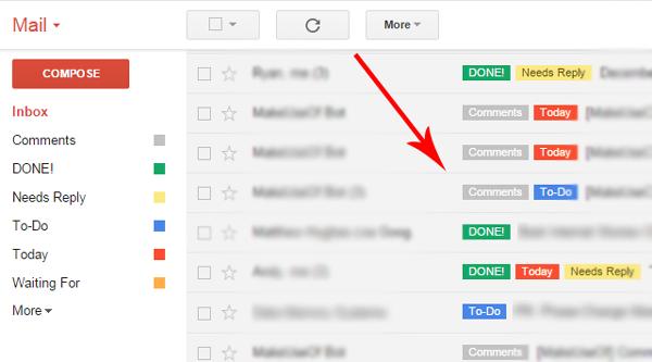 Organize your Inbox