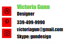 Example of a bad email signature