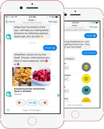 Example of a chatbot