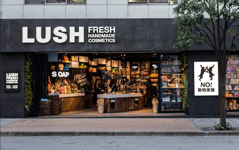 Lush brand positioning