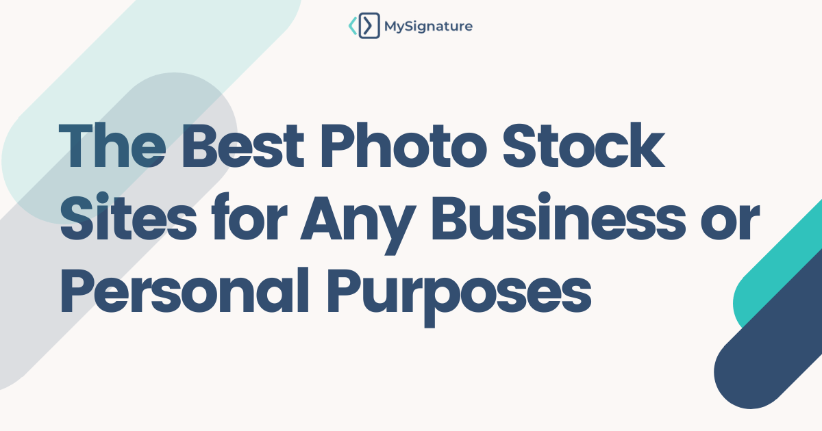 The Best Photo Stock Sites for Any Business or Personal Purposes standart