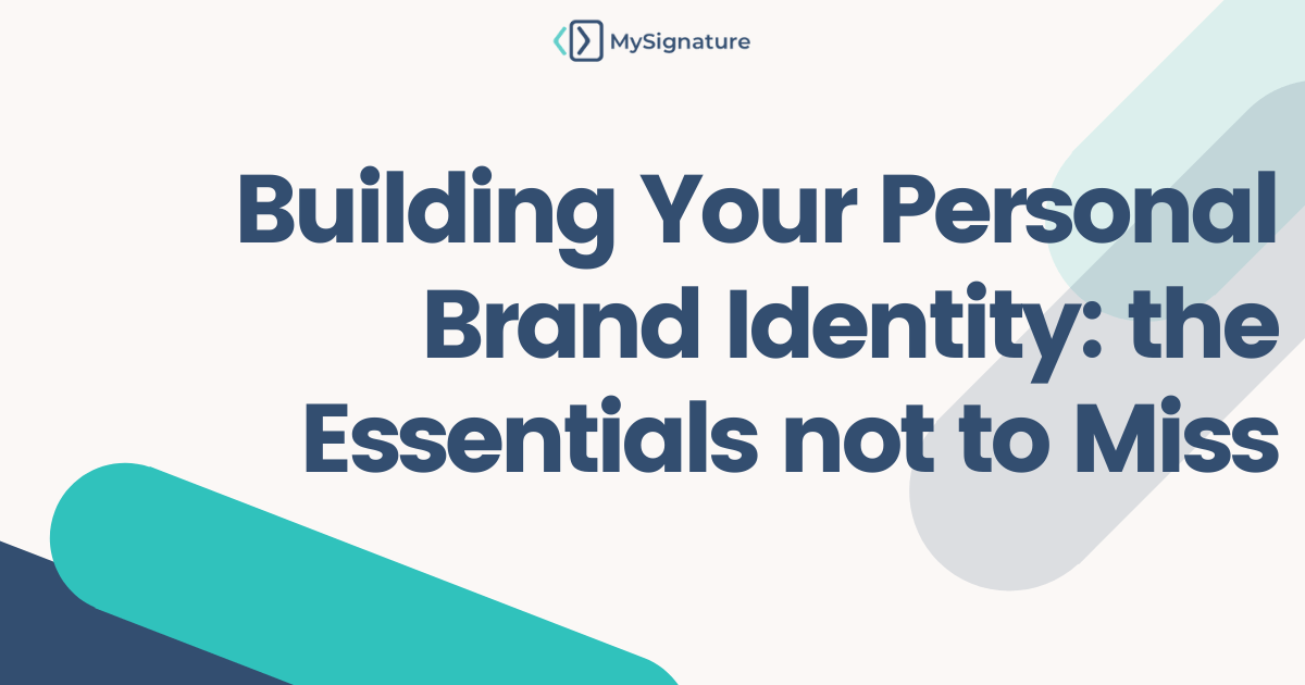 Building Personal Brand Identity