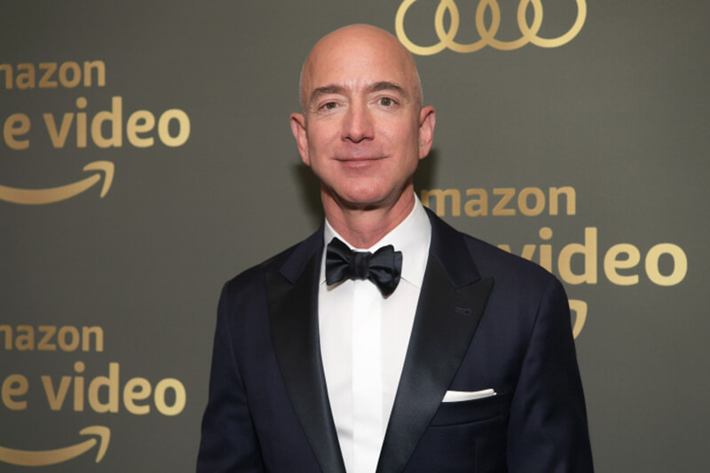 Jeff Bezos is a personal brand example