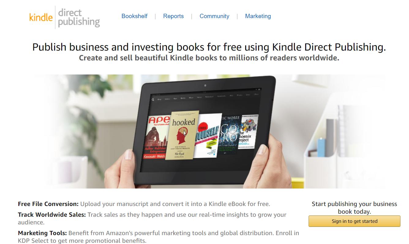 Amazon kindle publishing