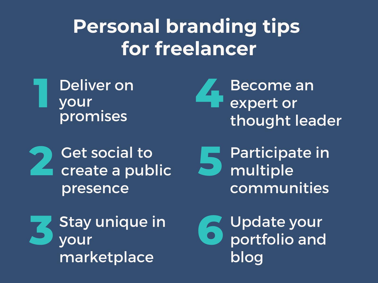 Pesonal brand for freelancer