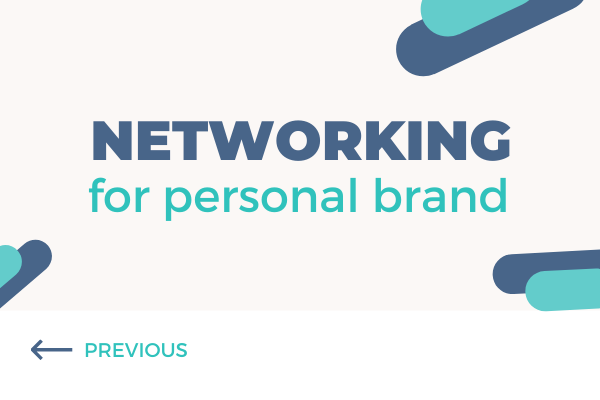 networking for personal brand