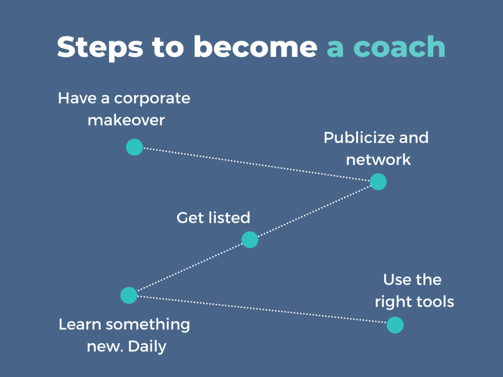 Coaching is a nice personal brand monetization