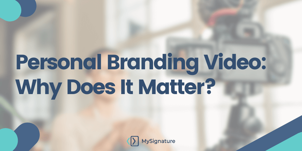 Personal Branding Video: Why Does It Matter?
